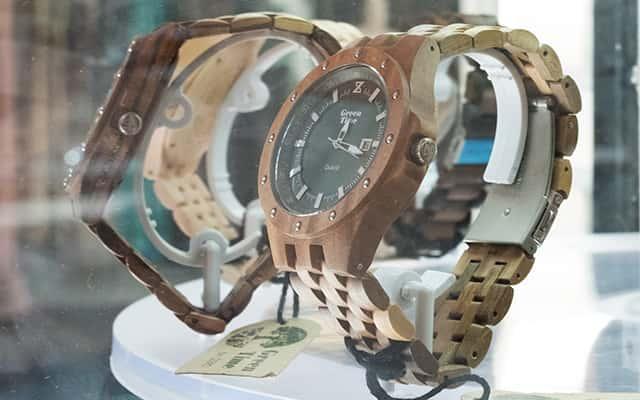 Houten horloges van GreenTime voor heren