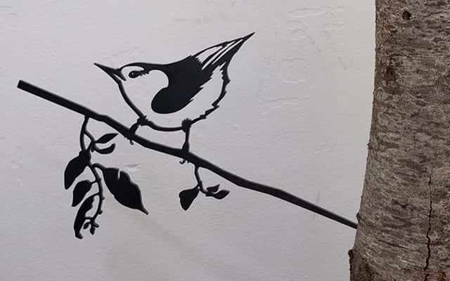 Metalen vogels van Metalbirds