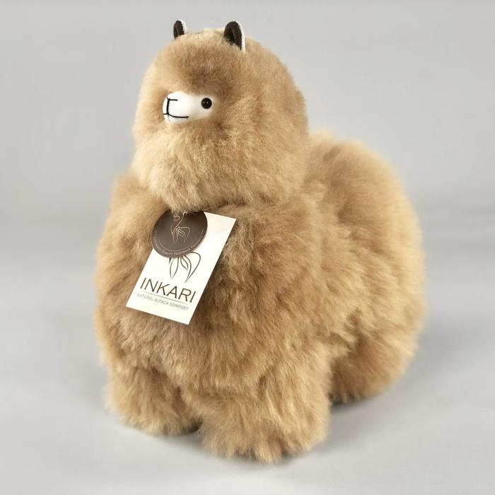 Modelfoto Medium alpaca light brown