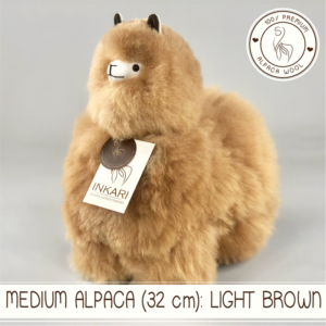 Medium alpaca light brown