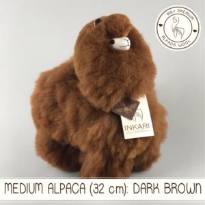 Medium alpaca dark brown