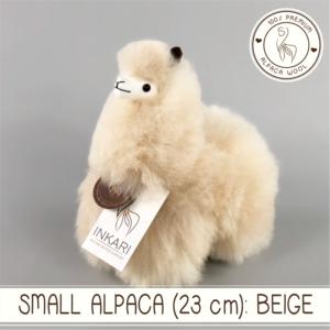 Small alpaca beige