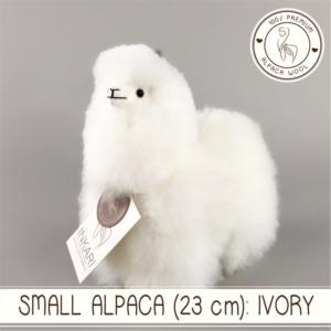 Small alpaca ivory