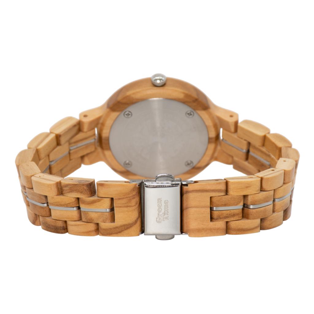 Modelfoto ZW125B houten dames horloge