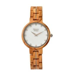 ZW125B houten dames horloge
