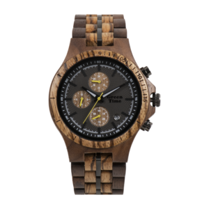Houten horloge ZW126A heren