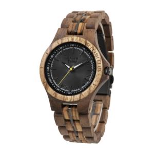 Houten horloge ZW136A