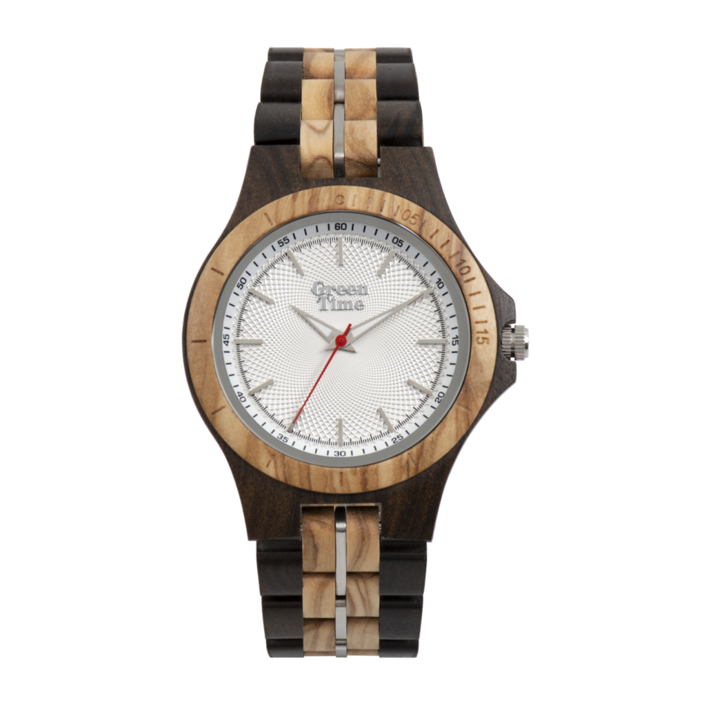 Modelfoto Houten horloge ZW136B