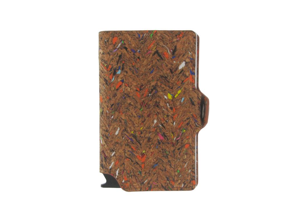 Modelfoto Cork wallet ZWG801B silver