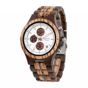 Houten heren horloge ZW126B