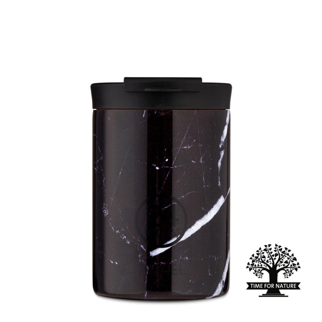 Modelfoto Travel tumbler Black marble 350ml